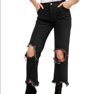 NWT free people distressed jeans